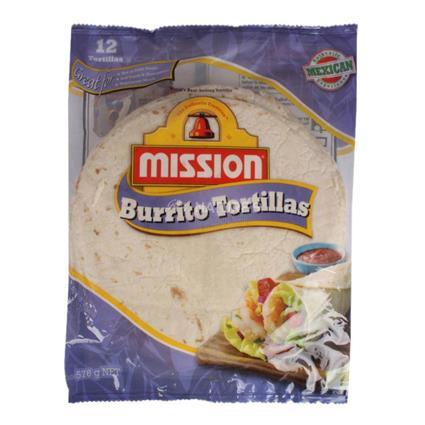 MISSION BURRITO TORTILLA 8INCHES 576G