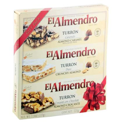 Turron Crunchy Almond - El Almendro