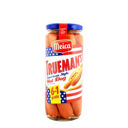 Trueman's American Style Hot Dog Sausages - Meica