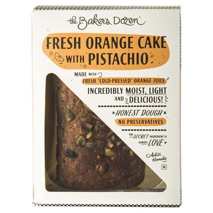 FRESH ORANGE CAKE WITH PISTACHIO