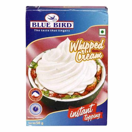 Whipped Cream - Blue Bird