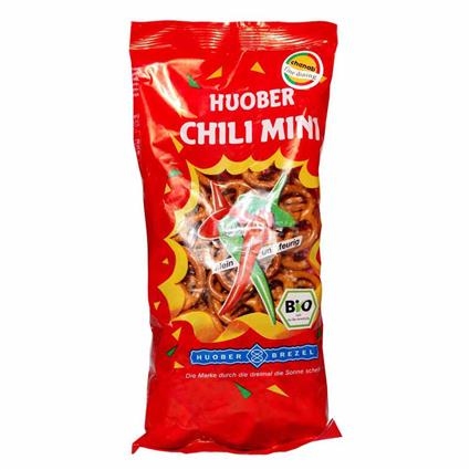 Chili Mini Pretzels  -  Organic - Huober