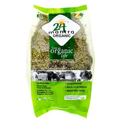 Green Moong Whole - 24 Mantra Organic