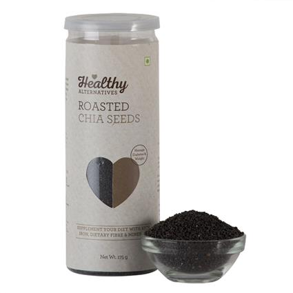 Chia Seeds  -  Roasted - Healthy Alternatives