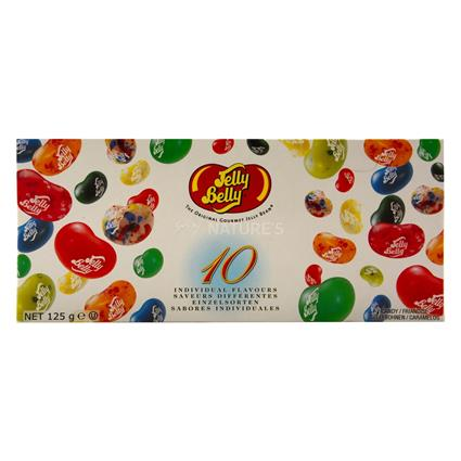 JELLY BELLY 10 FLAVOUR CANDY BOX 125G
