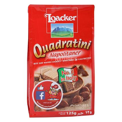Quadratini Napolitaner Wafer - Loacker
