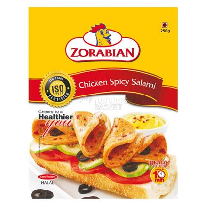 ZORABIAN CHICKEN SPICY SALAMI 250G