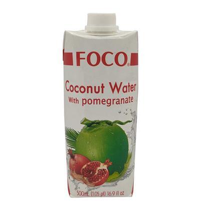FOCO COCONUT WTR WITH POMEGRANATE 500Ml