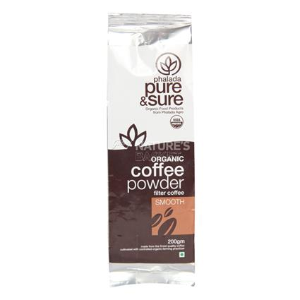 PURE&SURE ORG COFFEE SMOOTH 200G