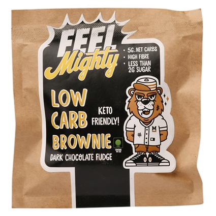 Low Carb Brownie Dark Chocolate - Feel Mighty