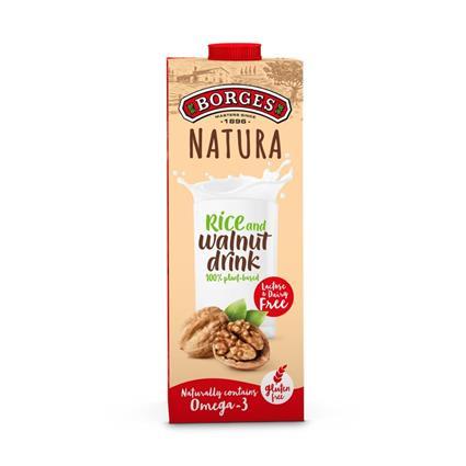 BORGES NATURA RICE & WALNUT DRINK 1L