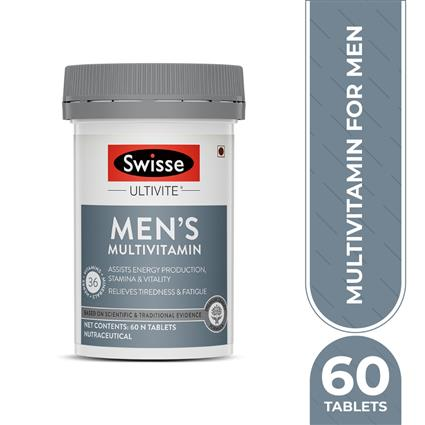 SWISSE MEN MUTLIVITAMIN 60 TABS