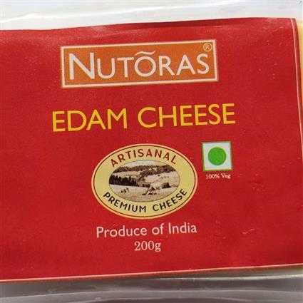 NUTORAS CHEESE EDAM BLOCK 200GM