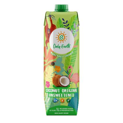 Only Earth Coconut Milk Unsweetened 1 Litre
