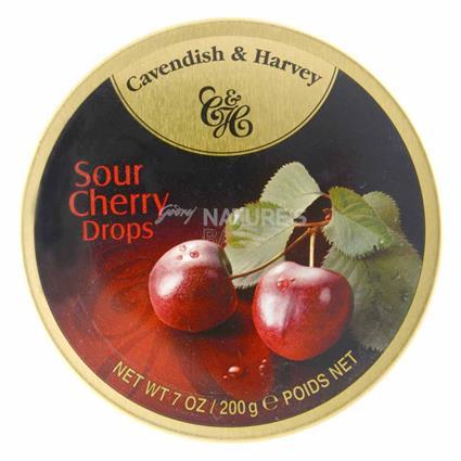 Sour Cherry Drops - Cavendish & Harvey