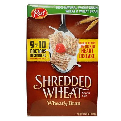 Shredded Wheat N Bran Cereal - Post