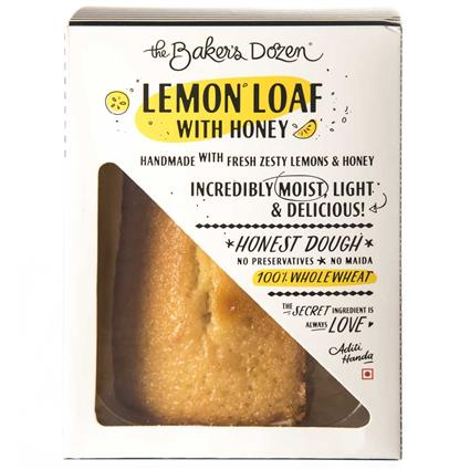 LEMON LOAF WITH HONEY 100% WHOLEWHEAT