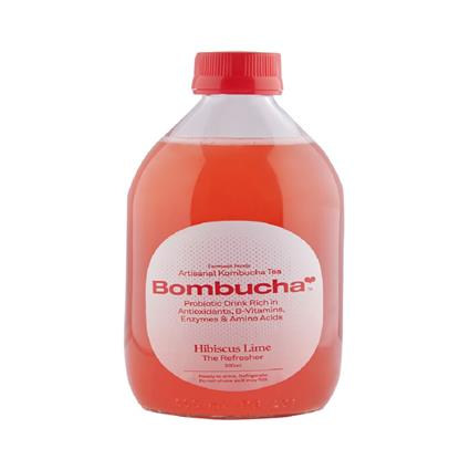 BOMBUCHA HIBISCUS LIME 500ML