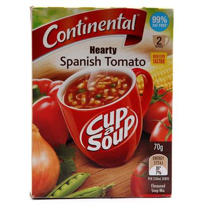 CONTINENTAL CUP-A-SOUP SPAN TOMATO 70G