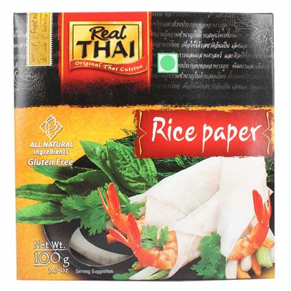 REAL THAI RICE PAPER ROUND 16CM 100G