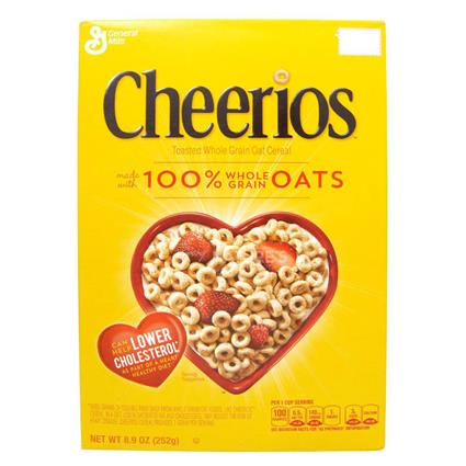 GENERAL MILLS CHEERIOS CEREAL 252G