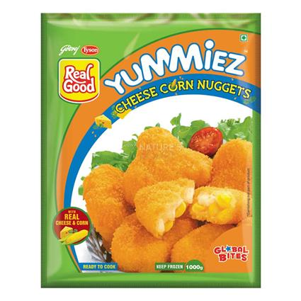 Veg Cheese Corn Nuggets - Yummiez