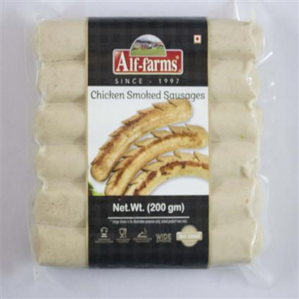 ALF FARMS CHICKEN SMOKED SAUSAGES 200 G