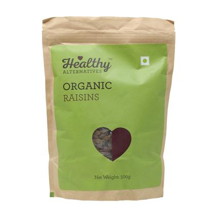 HA ORGANIC RAISINS 500GM