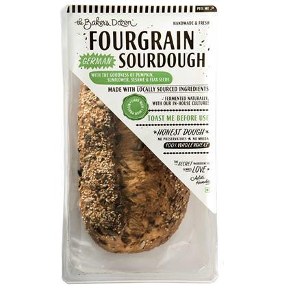 FOURGRAIN (SOURDOUGH) 100% WHOLEWHEAT