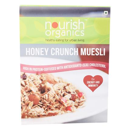 NOURISH ORG HONEY CRUNCH MUESLI 300G