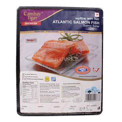 Cambay Tiger Premium Atlantic Salmon Portion 240G - Cambay Tiger