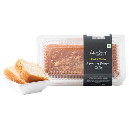 Rich Mawa Eggless Bar Cake - L'exclusif