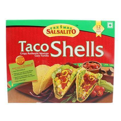 Taco Shells  -  12Pcs - Tex Mex Salsalito