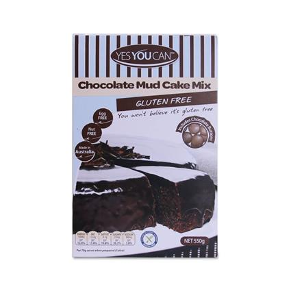 YES YOU CAN CHOC MUD CAKE GF MIX 550G