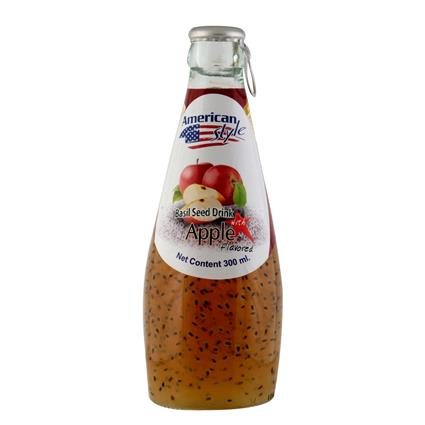 Basil Seed In In Apple Juice - American Style