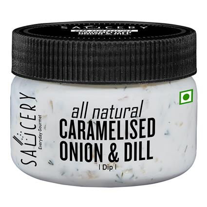 SAUCERY CARAMELISED ONION DILL DIP 200G