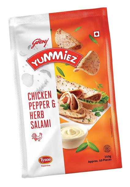Salami Chicken  -  Pepper & Herb - Yummiez