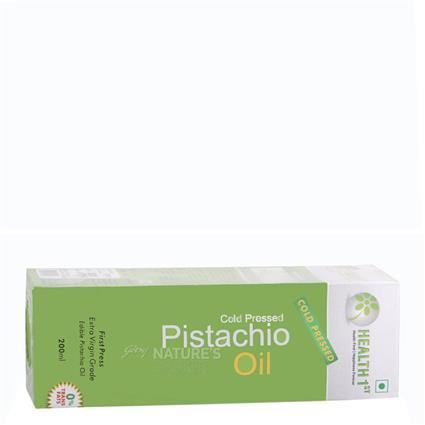 Cold Pressed Pistachio Oil - Health 1St