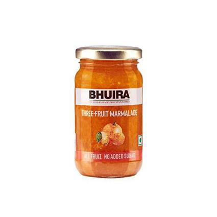 BHUIRA THREE FRUIT MARMALADE 240G