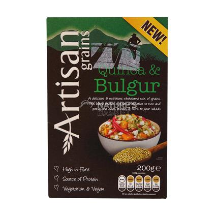 ARTISAN GRAINS QUINOA&BULGUR MIX 200G