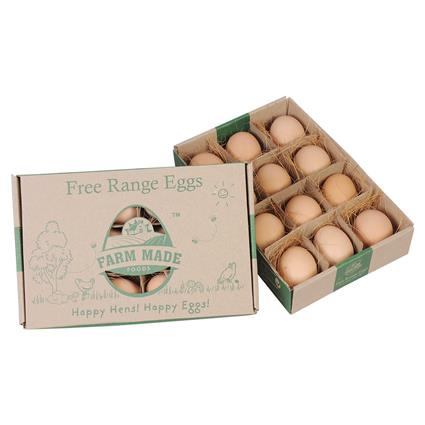 Free Range Eggs 12Nos - Farm Made Foods
