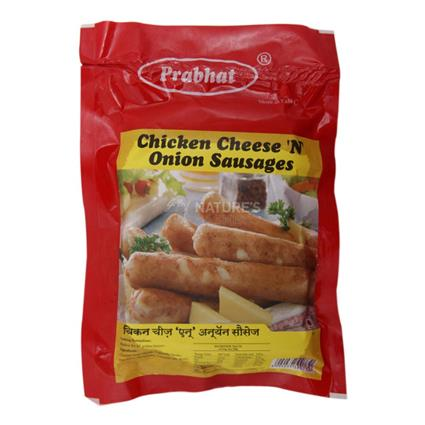 Chicken Cheese N Onion Sausages - Prabhat