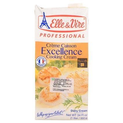 Elle N Vire Cooking Cream 1L