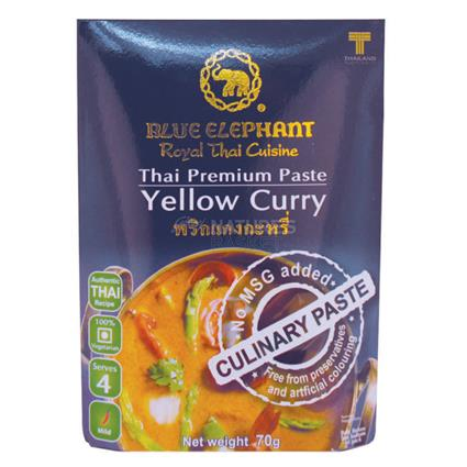 Thai Cuisine Yellow Curry Paste - Blue Elephant