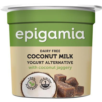 EPIGAMIA COCONUT MILK YOGURT SWEETND 90G