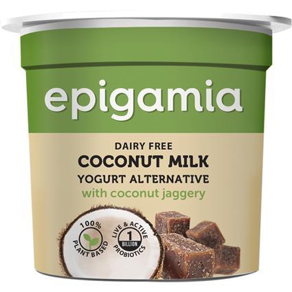 EPIGAMIA COCONUT MILK YOGURT SWEETND 90G
