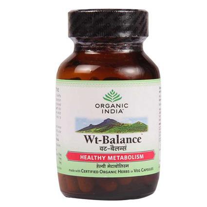 Weight Balance  -  60 Capsules - Organic India