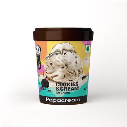 Papacream Cookies & Cream Ice Cream 500ML