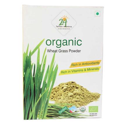 24MANTRA WHEAT GRASS  POWDER 100G