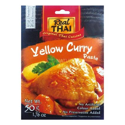 REAL THAI YELLOW CURRY PASTE 50g
